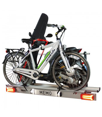 Zorro 3bike, foldable bike carrier for three (eletric) bicycles