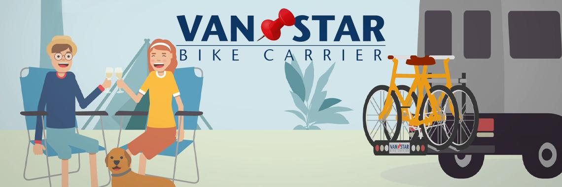 Van-Star bike carrier