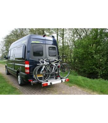 Van-Star, swing away bicycle carrier for Mercedes Sprinter & Volkswagen Crafter