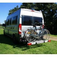 Van-Star, swing away bike carrier for van conversions