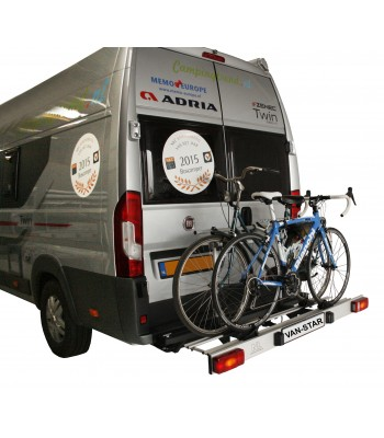 Van-Star, swing away bicycle carrier for Fiat Ducato X250 (L1-L3)