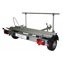 Shorty trailer for motorhomes (model for scooter)