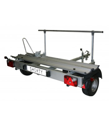 Shorty scooter trailer